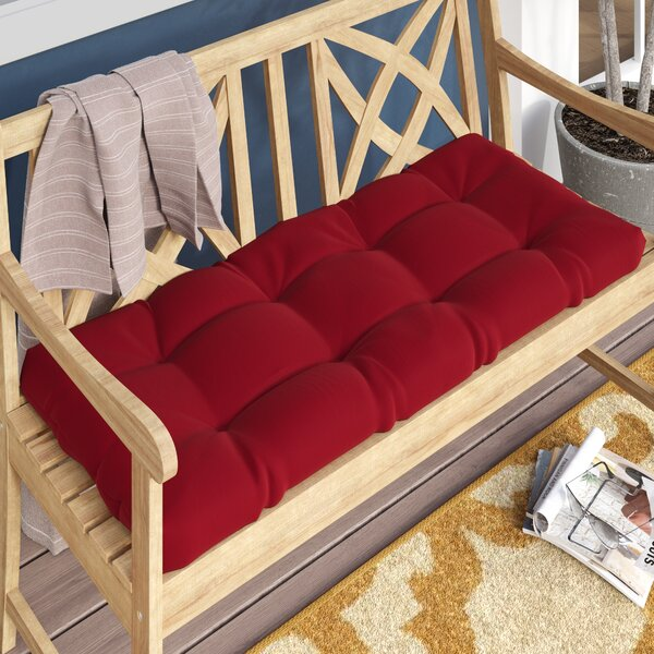 Indoor/Outdoor Loveseat Cushion by Andover Mills