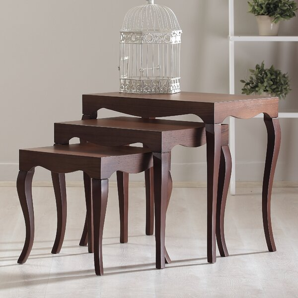 Victor 3 Piece Nesting Table by La Viola Décor