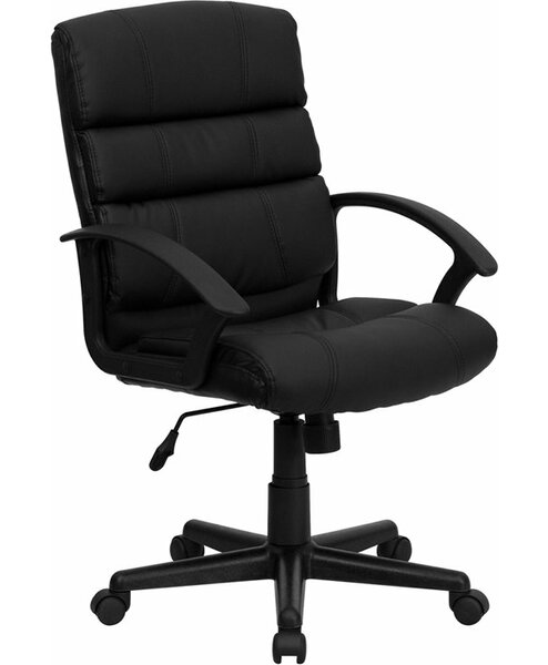 Kropp Mid-Back Ergonomic Executive Chair by Symple Stuff