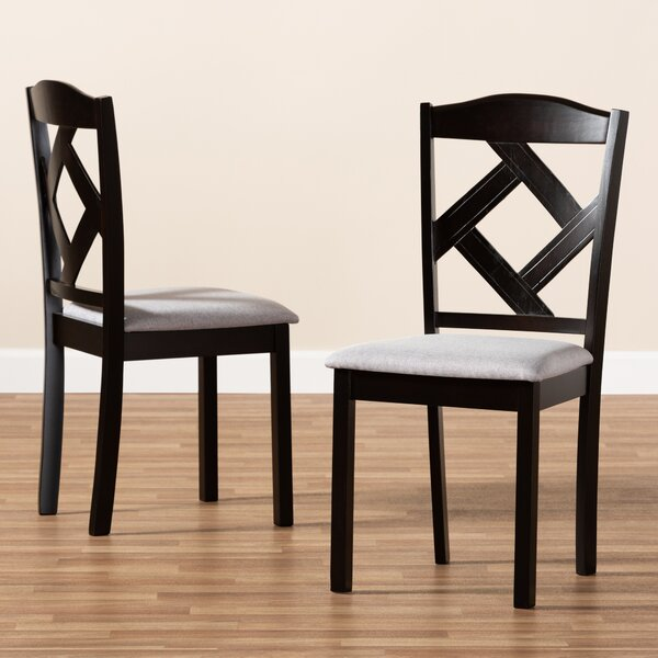 Shelva Solid Wood Dining Chair (Set of 2) by Winston Porter