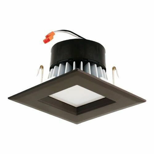 Square Insert Reflector 3 LED Recessed Trim by Elco Lighting