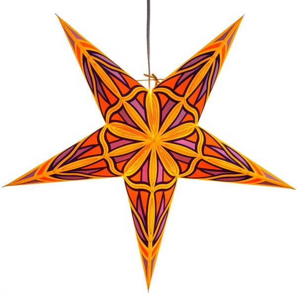 Mosaic Paper Star Light by Hometown Evolution, Inc.