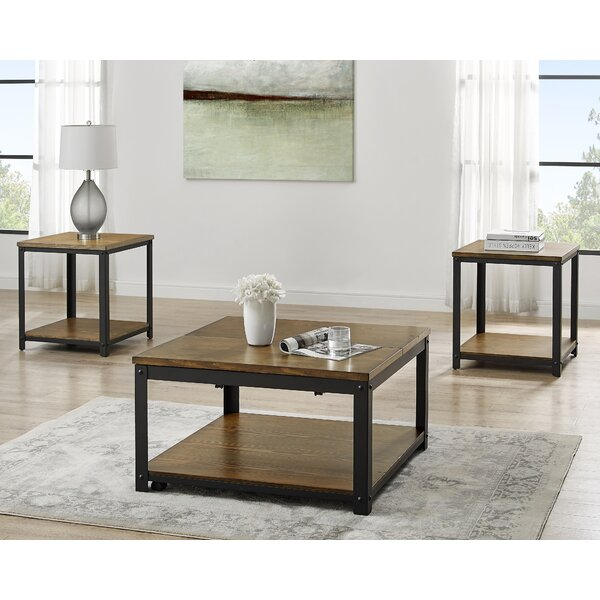 Ridling 3 Piece Coffee Table Set By Gracie Oaks
