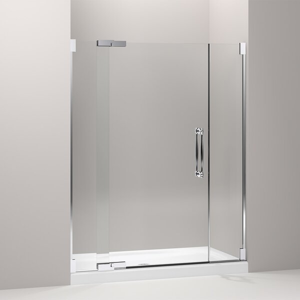 Finial 59.75 x 72.25 Pivot Shower Door by Kohler
