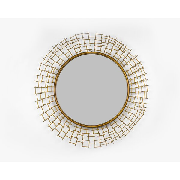 Barna Accent Mirror by World Menagerie