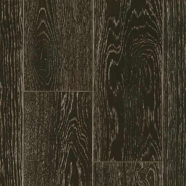 7-1/2 Engineered Oak Hardwood Flooring in Limed Dark Value by Armstrong Flooring