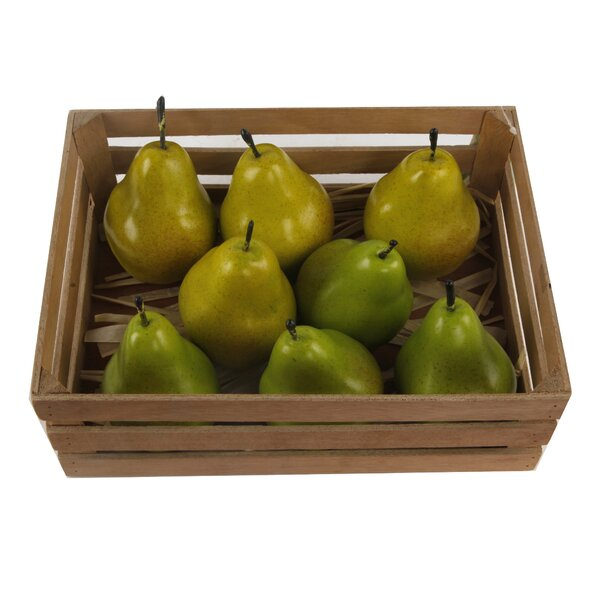 Priscila 8 Piece Packed Asstorted Pear Set by August Grove
