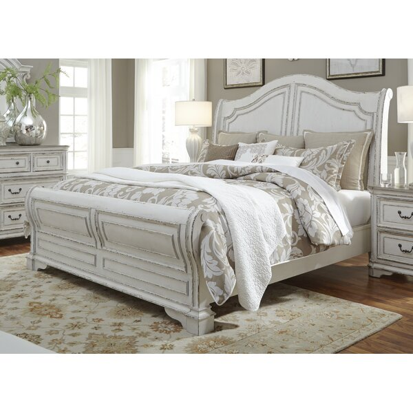 Treport Sleigh Bed by One Allium Way