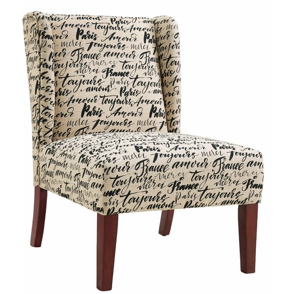 Caldwell Slipper Chair by One Allium Way