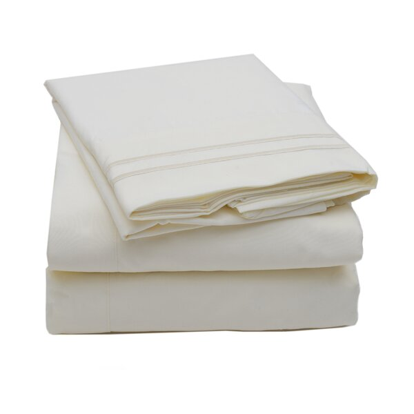 Madame Marie Polyester Sheet Set by Sweet Home Collection