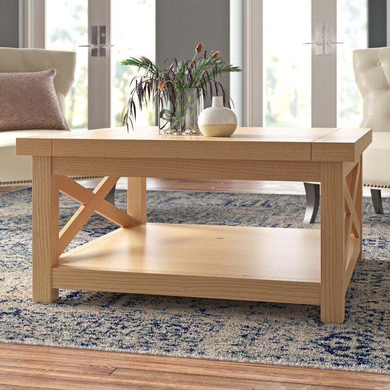 Burbury Coffee Table With Storage