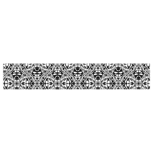 Mydeas Diamond Illusion Damask Table Runner by East Urban Home
