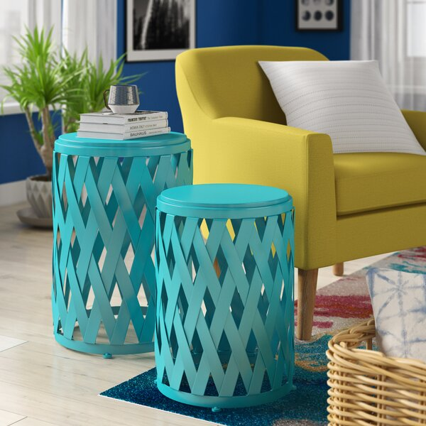 Quinlan 2 Piece Nesting Tables By Wrought Studio™