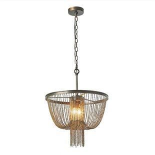 Hagedorn Hall Draping Chains 2-Light Bowl Pendant By Williston Forge