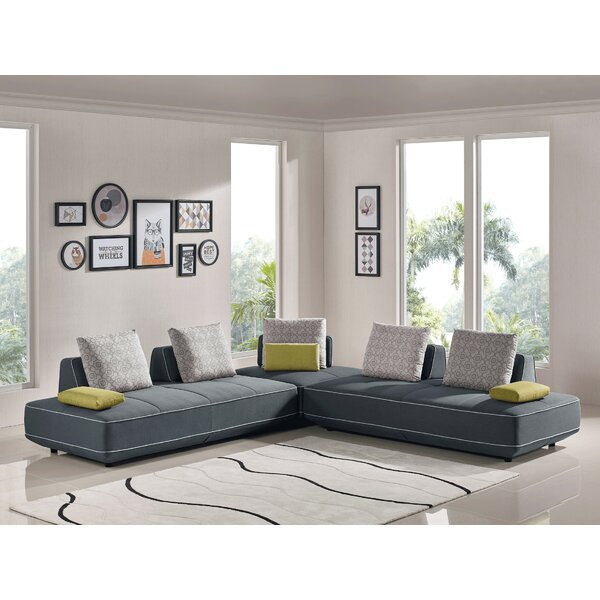Sperazza 3 Piece Living Room Set by Orren Ellis