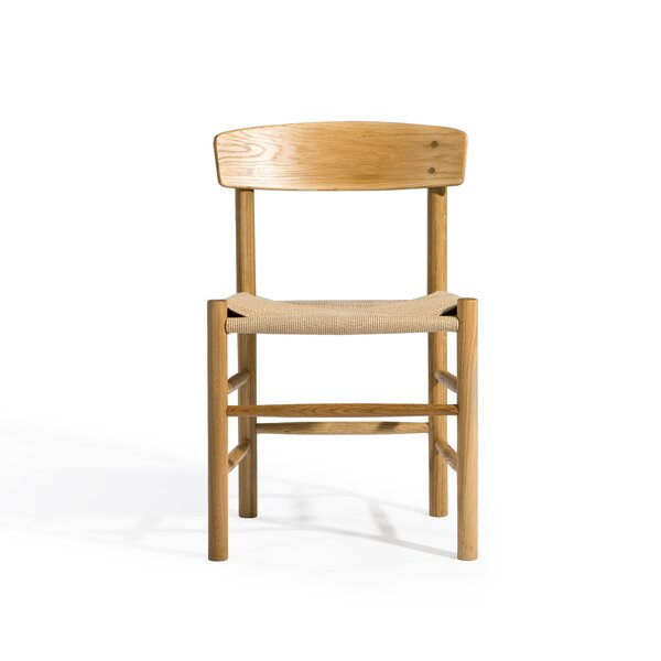 Meade Solid Wood Dining Chair By August Grove August Grove