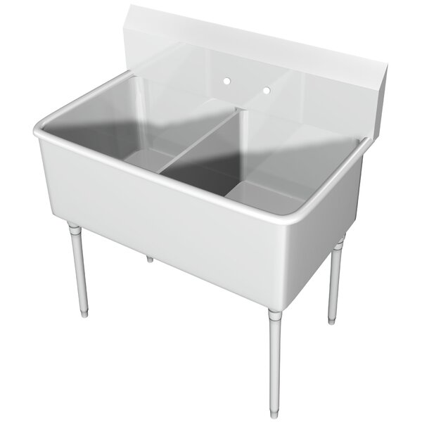 52 x 25.5 Free Standing Service Sink by IMC Teddy
