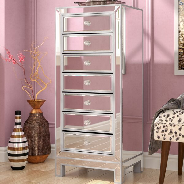 Mariaella 7 Drawer Lingerie Chest by Rosdorf Park