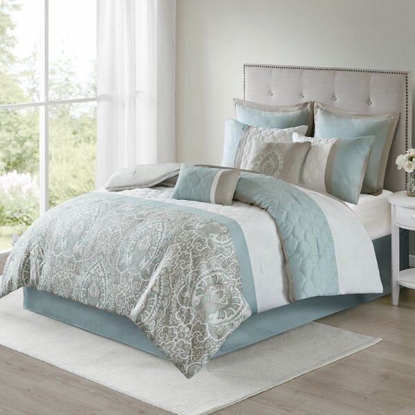 Keller 8 Piece Comforter Set by Charlton Home