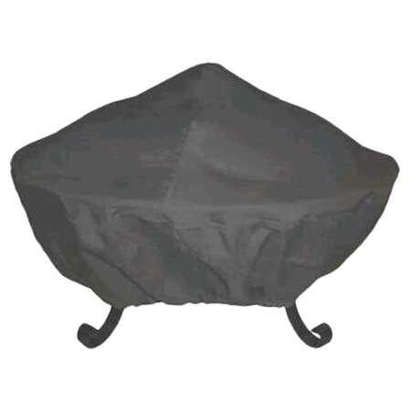 30 Tall Screen Vinyl Fire Pit Cover by Corral