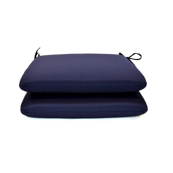 Indoor/Outdoor Sunbrella Dining Chair Cushion (Set of 2) by Wildon Home ®