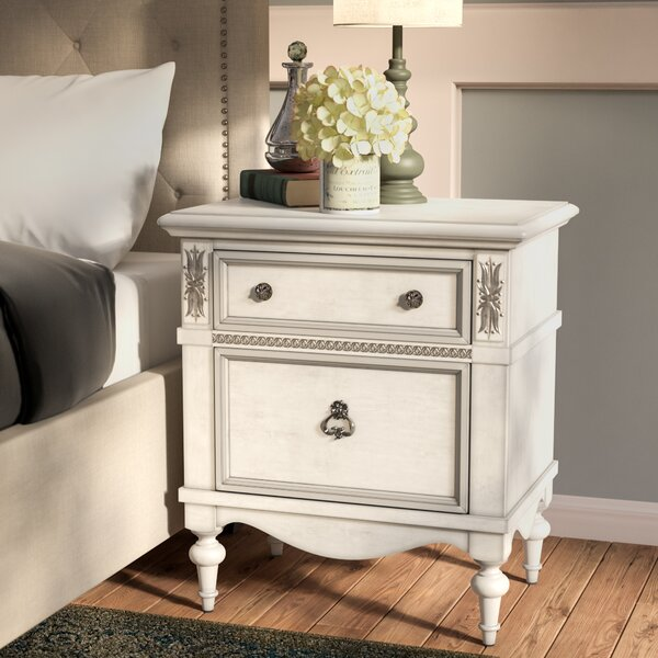 Avila 2 Drawer Nightstand by Lark Manor