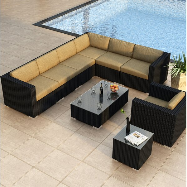 Urbana 9 Piece Sectional Set with Cushions by Harmonia Living