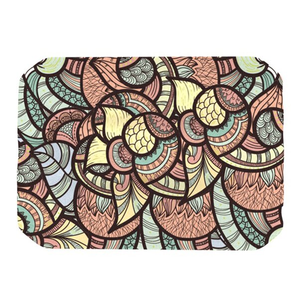 Wild Run Placemat by KESS InHouse