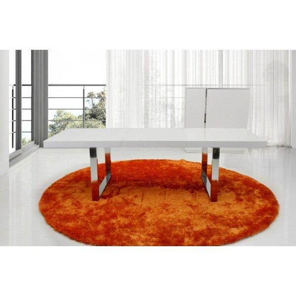 Modern Carole Extendable Dining Table By Orren Ellis Sale