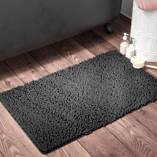 Keven Plush Bath Mat by The Twillery Co.