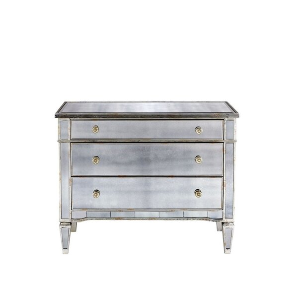 Holley Antique 3 Drawer Accent Chest by Rosdorf Park Rosdorf Park