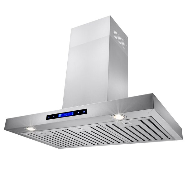 36 400 CFM Convertible Wall Mount Range Hood by AK