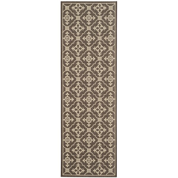 Herefordshire Brown/Tan Indoor/Outdoor Rug by Winston Porter