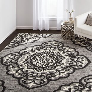 Shopping for Gingras Gray/Black Area Rug By Charlton Home