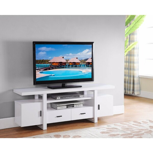 Dipasquale Eye Catching 60 TV Stand with Open Shelves by Latitude Run