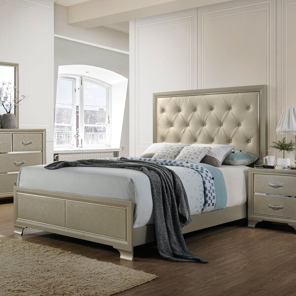Ireland Standard Panel Bed by House of Hampton