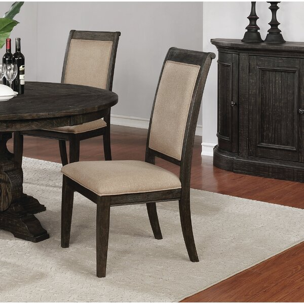 Egan Upholstered Dining Chair (Set Of 2) By Alcott Hill