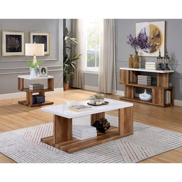 Yoel 3 Piece Coffee Table Set by Brayden Studio Brayden Studio®