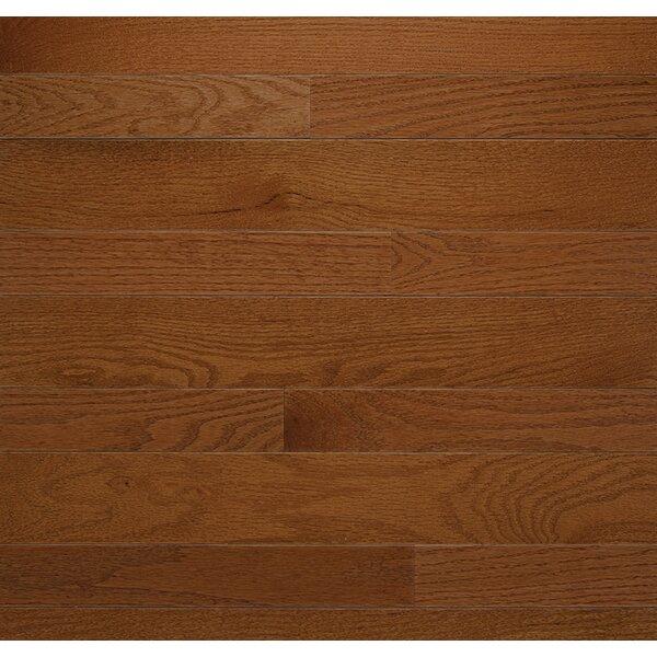 Homestyle 2-1/4 Solid Red Oak Hardwood Flooring in Gunstock by Somerset Floors