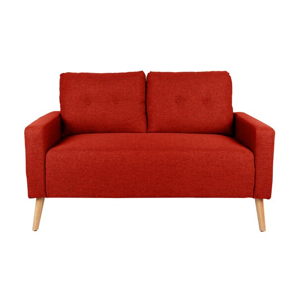 Ramsdell Mid Century Modern Loveseat by Wrought St