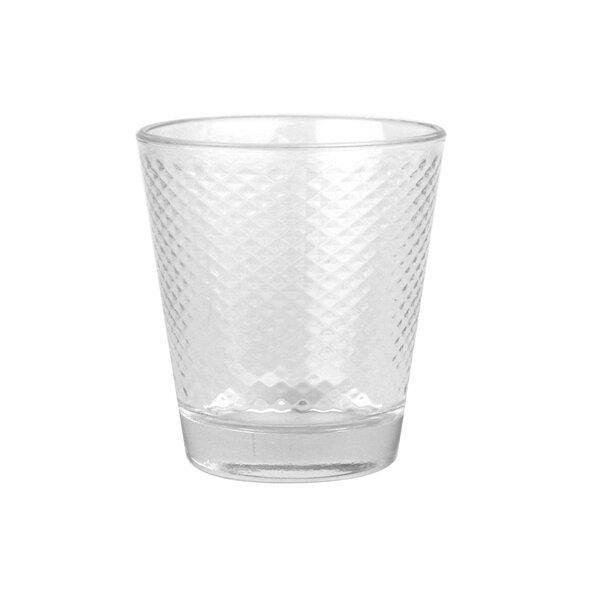 Tivoli Small Diamond Everyday Glass (Set of 6) by Canvas Home
