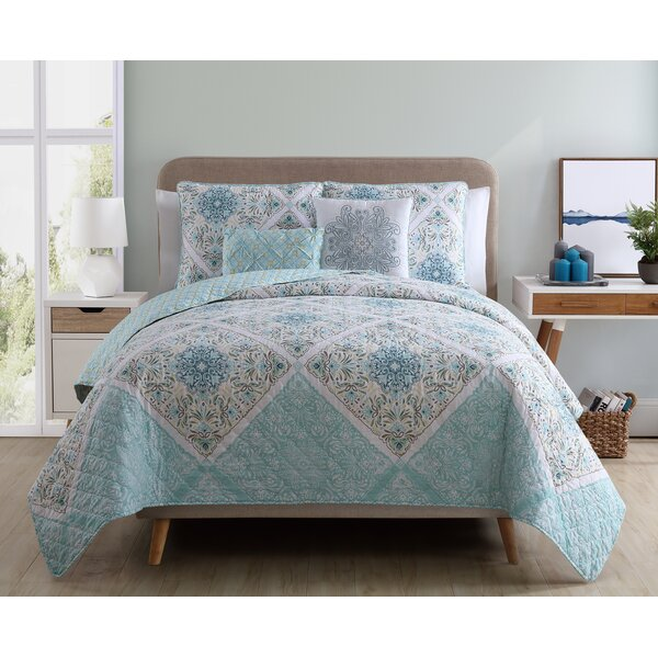 Nicholas Reversible Comforter Set by Charlton Home