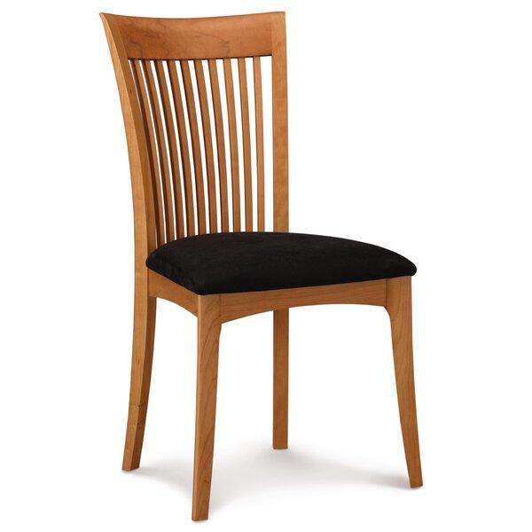 Sarah Upholstered Slat Back Side Chair By Copeland Furniture