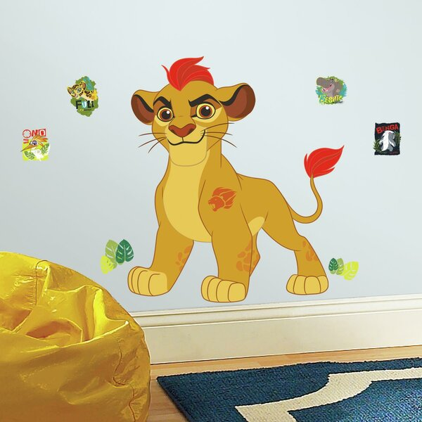 Lion Guard Kion Peel and Stick Giant Wall Decal by Room Mates