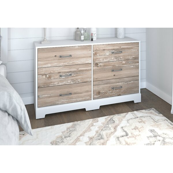 River Brook 6 Drawer Double Dresser by Kathy Ireland Home by Bush Furniture