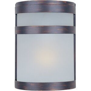 Alyce 1-Light Outdoor Flush Mount