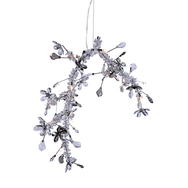 Zavier 10-Light Unique / Statement Chandelier With Crystal Accents Accents By Rosdorf Park