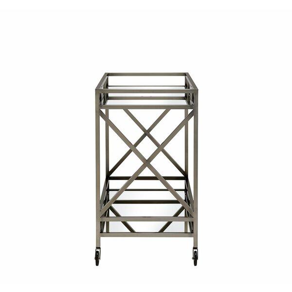 Alvina Bar Cart by Brayden Studio Brayden Studio