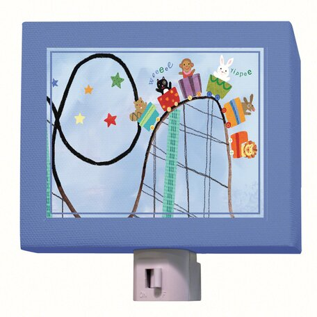 Rollercoaster Ride Night Light by Oopsy Daisy