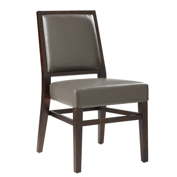 Dopkins Upholstered Dining Chair (Set of 2) by Canora Grey Canora Grey